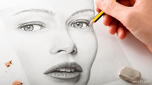 Curso de dibujo a lápiz